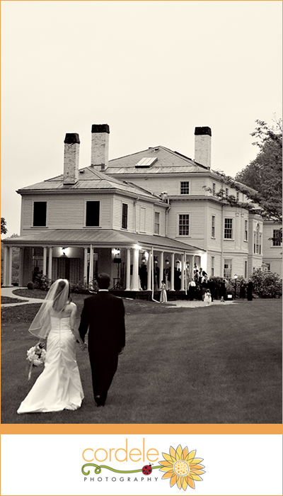Lyman Estate Wedding Photo